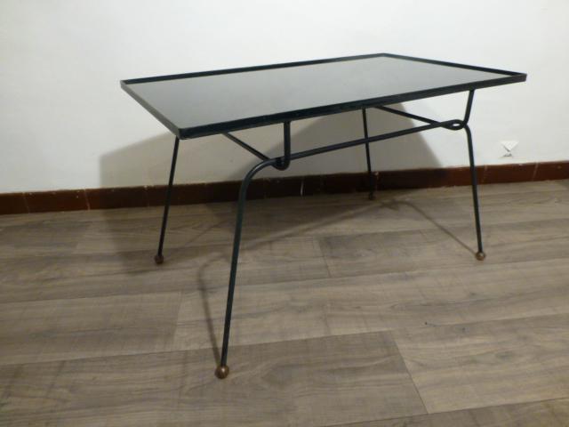 Attribue Opaline Jacques Table Basse A Adnet1950 uFJTK1cl3