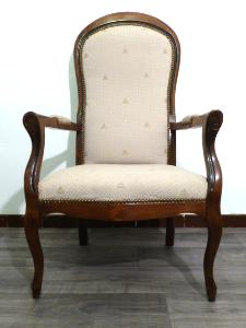 FAUTEUIL VOLTAIRE PROVENCAL STYLE LOUIS PHILIPPE