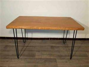 TABLE A MANGER SUR MESURE « PLOT » - HAIRPIN LEG.