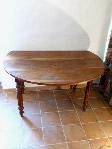 TABLE NOYER VOLETS PLIANTS début 20eme Siecle