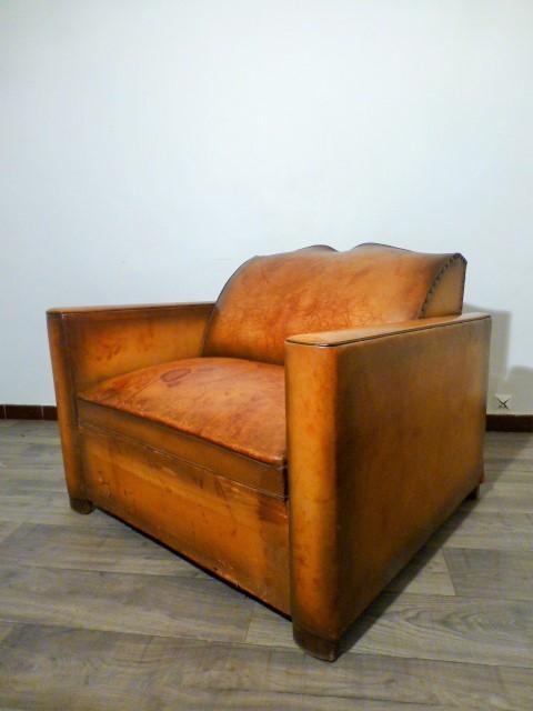 fauteuil club art deco. Black Bedroom Furniture Sets. Home Design Ideas