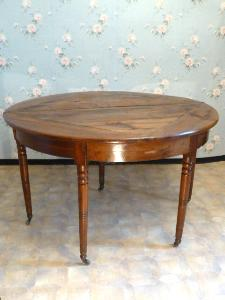 TABLE DEMIE LUNE NOYER