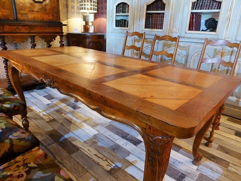 Grande Table Provencale Fin 19eme Siecle